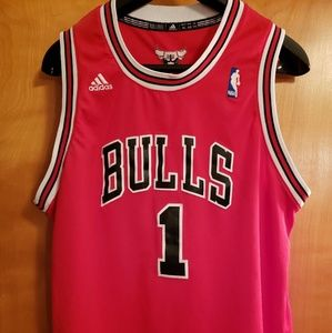 Chicago Bulls Rose authentic Adidas jersey size XL